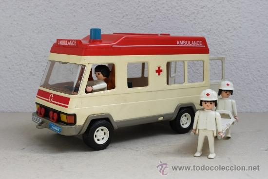 AMBULANCIA PLAYMOBIL (Juguetes - Playmobil)