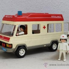Playmobil: AMBULANCIA PLAYMOBIL. Lote 57700080