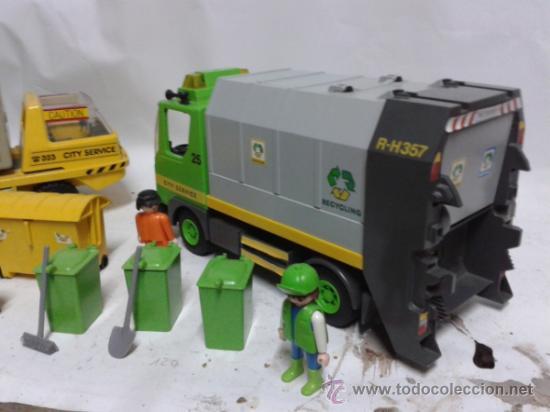 Playmobil: Playmobil camiones de basura - Foto 3 - 37358202