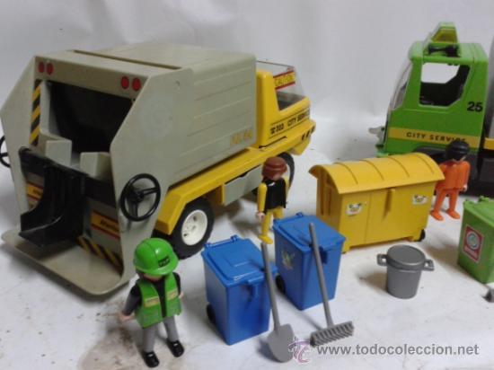 Playmobil: Playmobil camiones de basura - Foto 2 - 37358202