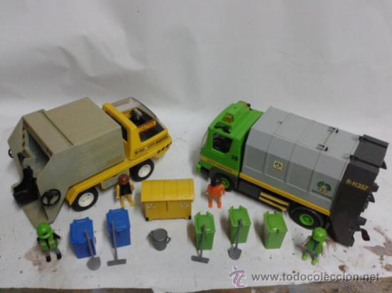 PLAYMOBIL CAMIONES DE BASURA (Juguetes - Playmobil)