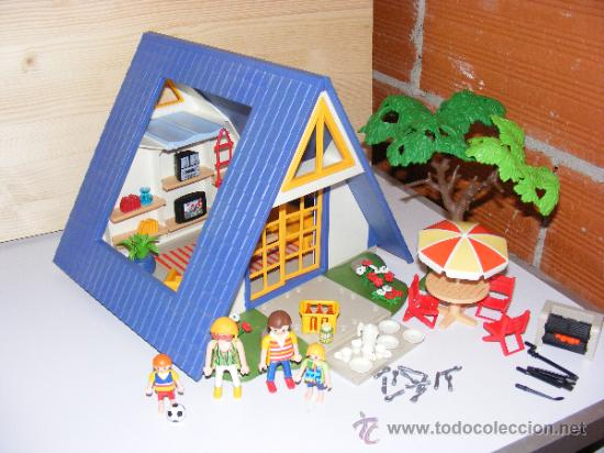 Playmobil casa de vacaciones ref 3230 comprar playmobil en todocoleccion 37559157 - Playmobil 3230 casa de vacaciones ...