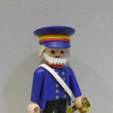 Playmobil: PLAYMOBIL FIGURA APRECIADO MILITAR SABLE VICTORIANO CASA VICTORIANA 5405 PIEZAS. Lote 213722377
