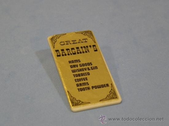 PLAYMOBIL CARTEL CASA DRUG - STORE 3424 EDIFICIOS PRIMERA EPOCA OESTE WESTERN PIEZAS (Juguetes - Playmobil)