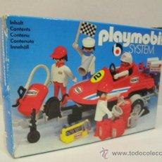Playmobil: PLAYMOBIL EQUIPO RACING LANCHA CON CARRO PRIMERA EPOCA SYSTEM NAVE 3538 EN CAJA. Lote 38012998