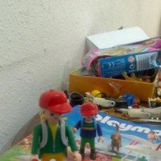 Playmobil: PLAYMOBIL EXCURSION NOCTURNA, PADRE, HIJO Y PERRITO. Lote 38035680