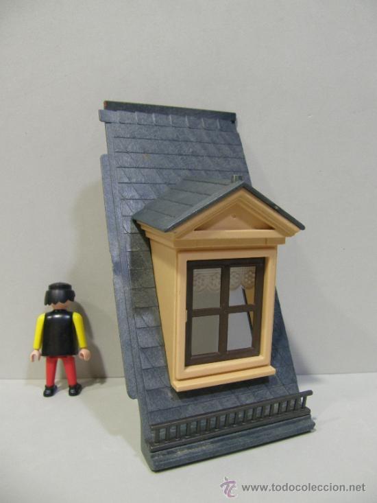 Playmobil pieza buhardilla ventana tejado facha comprar for Casa playmobil precio