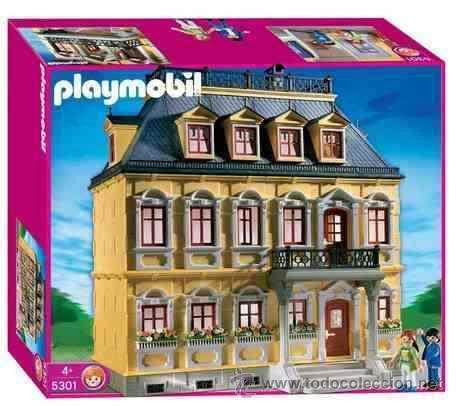 Playmobil Apreciada Casa Victoriana 5301 Mansio Comprar