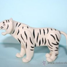Playmobil: PLAYMOBIL MEDIEVAL ANIMAL TIGRE BLANCO. Lote 125240704
