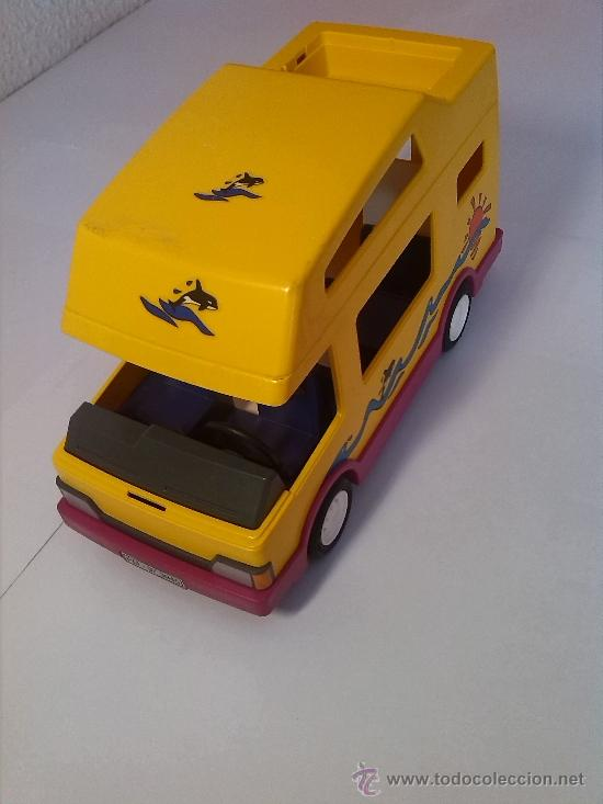 Autocaravana caravana playmobil 3945 incompleta comprar for Autocaravana playmobil