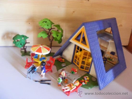 Playmobil casa de verano campo vacaciones ciuda comprar for Casa playmobil precio