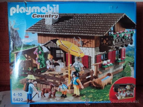 Playmobil ref 5422 casa de monta a refugio nuev comprar for Casa playmobil precio