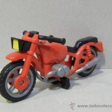 Playmobil: PLAYMOBIL ANTIGUA MOTO PRIMERA EPOCA MOTOS MOTOR PIEZAS. Lote 49021385
