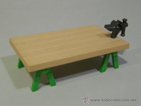 PLAYMOBIL MESA TRABAJO CON TORNO MEDIEVAL BELEN CASA VICTORIANA VICTORIANO 5300 PIEZAS (Juguetes - Playmobil)