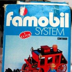 Playmobil: FAMOBIL SYSTEM DILIGENCIA REF. 3245 AÑOS 70 COMPLETO CON CAJA. Lote 90539164