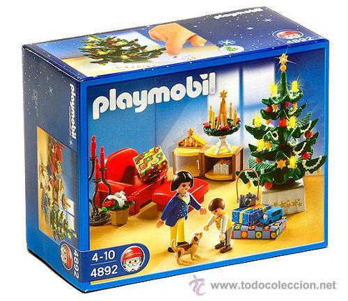 Playmobil gran set navidad habitacion casa bele comprar for Casa playmobil precio