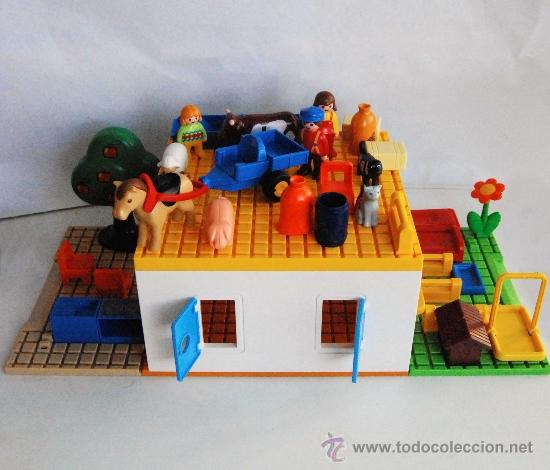 Playmobil 123 1 2 3 casa y 35 piezas objetos a comprar for Casa playmobil precio