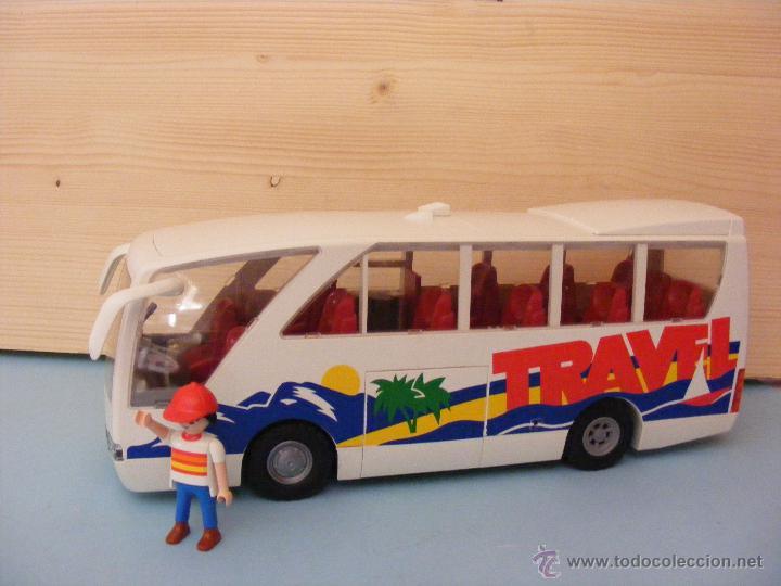 Playmobil autobus autocar y conductor automobil comprar - Autocar playmobil ...