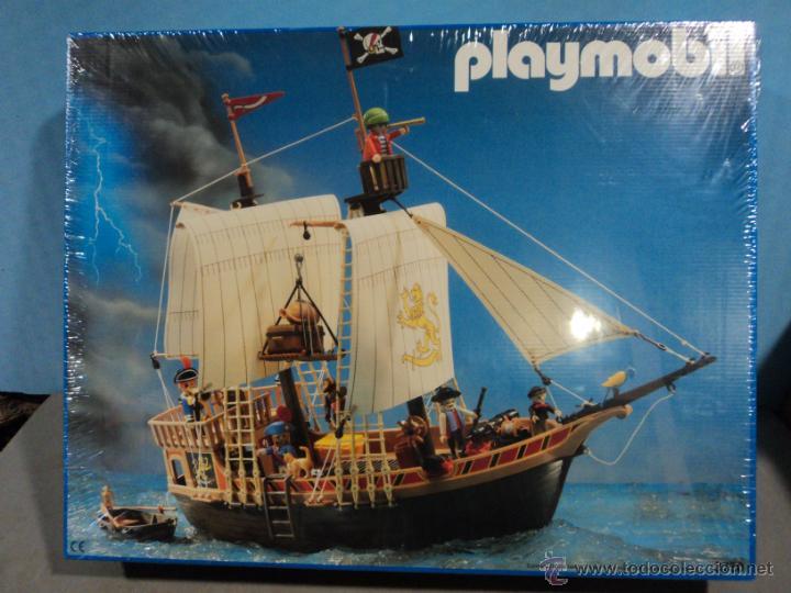 Playmobil ref 3750 barco pirata nuevo precintad comprar for Barco pirata playmobil
