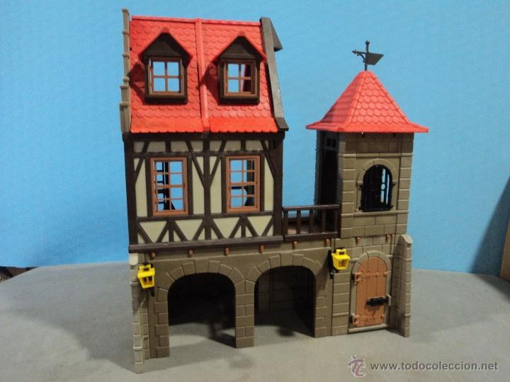 Playmobil castillo casa medieval comprar playmobil en for Casa playmobil precio