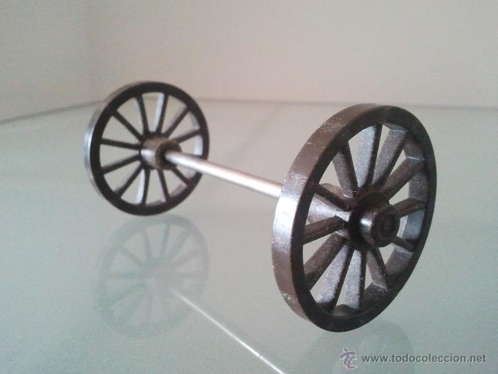Playmobil Ruedas Carro Diligencia Oeste Medieval Leer Sa2