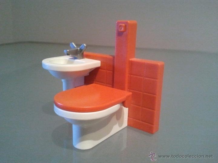 Playmobil ba o lavabo wc pica accesorio complem comprar for Pica lavabo