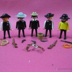 Playmobil: PLAYMOBIL LOTE VAQUEROS OESTE -. Lote 39924793