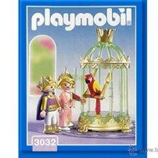 Playmobil: PLAYMOBIL NIÑOS CON JAULA LORO ANIMALES ZOO MEDIEVAL CASTILLO 3032 NUEVO EN CAJA SIN ABRIR. Lote 40043832