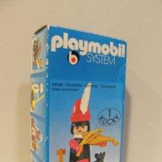 Playmobil: PLAYMOBIL MUSICO MEDIEVAL 3377 BELEN CASTILLO SYSTEM PRIMERA EPOCA MEDIEVAL KLICKY COMPLETO EN CAJA. Lote 40158130