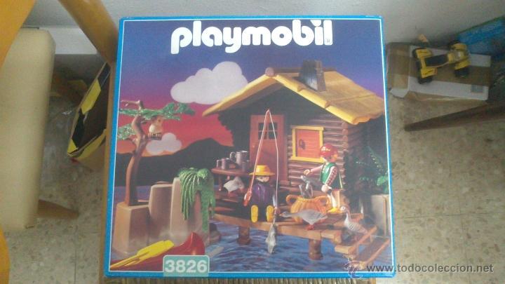 Playmobil 3826 casa en el lago en caja original comprar for Casa playmobil precio