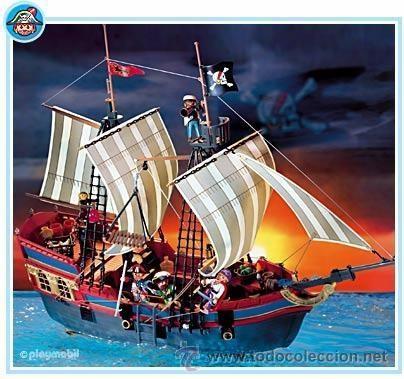 Playmobil gran barco pirata galeon corsario isl comprar for Barco pirata playmobil
