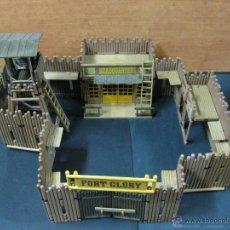 Playmobil: PLAYMOBIL FORT GLORY FUERTE OESTE REFERENCIA 3806 SIN PESTAÑAS ROTAS Y PAREDES EXTRAS. Lote 40528757