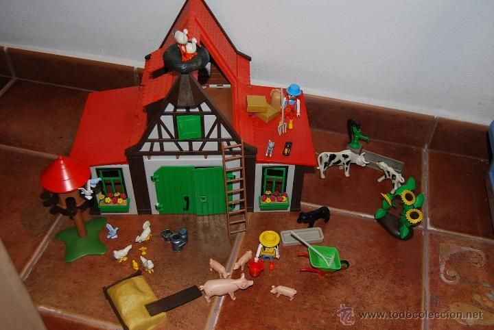 Granja playmobil antigua 3716 oferta mejo comprar for La granja de playmobil precio