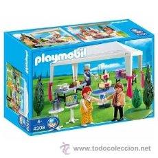Playmobil: PLAYMOBIL BODA BANQUETE NOVIOS CASA VICTORIANA VICTORIANO 4308 NUEVO EN CAJA SIN ABRIR. Lote 40641332