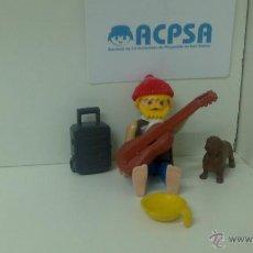 Playmobil: PLAYMOBIL CANTANTE CALLEJERO. Lote 40684215