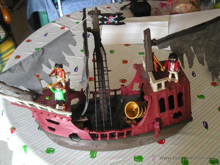 Playmobil 4806 barco pirata fantasma 3 clic comprar for Barco pirata playmobil