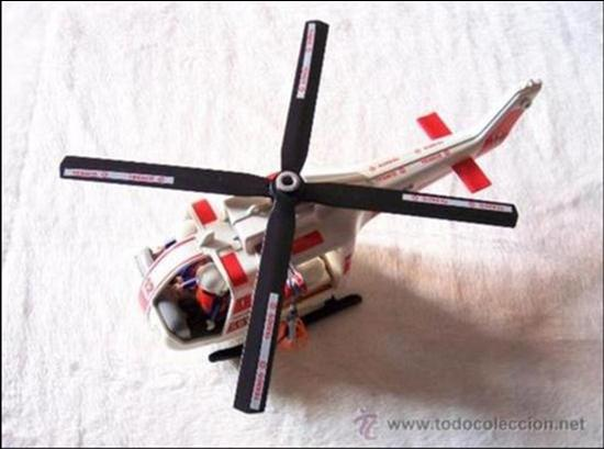 HELICOPTERO DE RESCATE (Juguetes - Figuras de Acción - Playmobil)