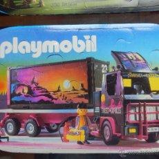 Playmobil: PUZZLE PLAYMOBIL CAMION NUEVO SIN USAR . Lote 41499621
