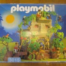 Playmobil: PLAYMOBIL REFERENCIA 3015 JUNGLA SELVA EXPLORADORES DESCATALOGADA. Lote 123283576