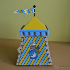 Playmobil: PLAYMOBIL 3654 TIENDA TORNEO JUSTA CABALLERO CISNE - RSG - MEDIEVAL. Lote 41801293