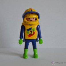 Playmobil: PLAYMOBIL 3698 PILOTO DE CARRERAS - FIGURAS - RSG - DEPORTES. Lote 41801594