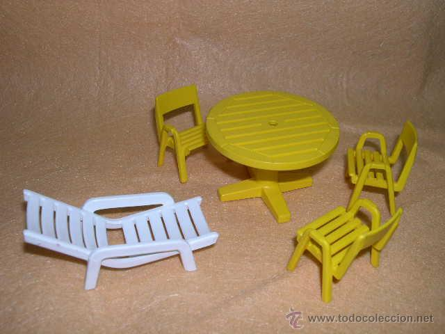 Hrtsdq Y Terra Muebles Vendido Playmobil Venta Sillas Mesa En Tumbona v8nwmy0ON