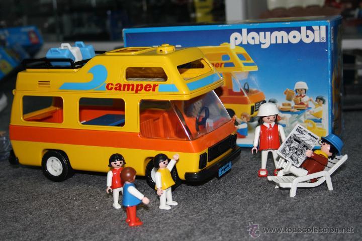 Playmobil autocaravana en pefecto estado como comprar for Autocaravana playmobil