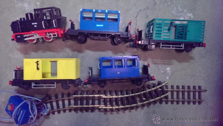TREN PLAYMOBIL (Juguetes - Playmobil)