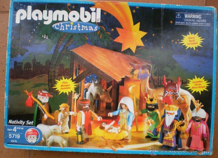 Playmobil portal de bel n nacimiento 5719 comprar for Playmobil segunda mano