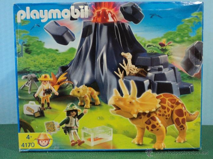Playmobil ref 4170 dinosaurios completo comprar for Playmobil dinosaurios
