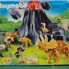 Playmobil: PLAYMOBIL-REF-4170-DINOSAURIOS-COMPLETO. Lote 107097076