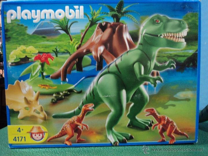 Playmobil ref 4171 dinosaurios completo comprar for Playmobil dinosaurios