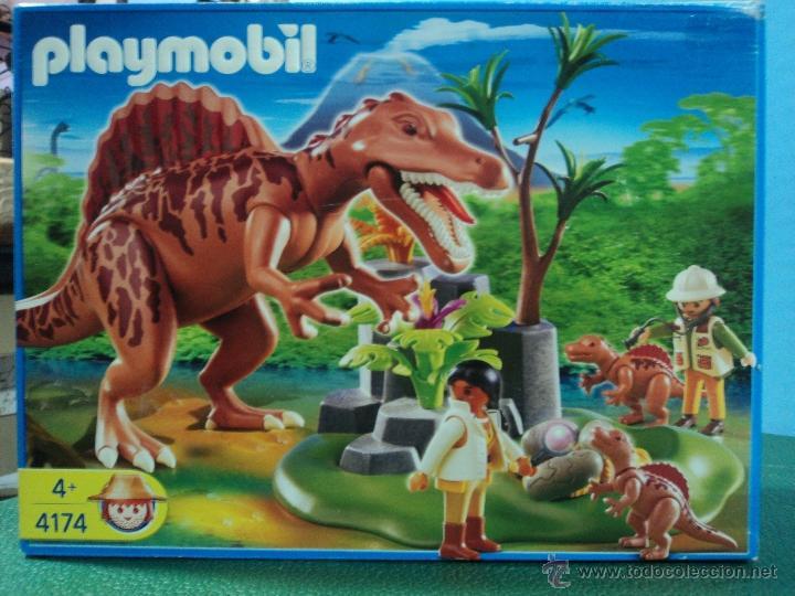Playmobil ref 4174 dinosaurios completo comprar for Playmobil dinosaurios