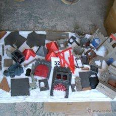 Playmobil: GRAN LOTE CASTILLO PLAYMOBIL - MUCHAS PIEZAS - PUEDEN CORRESPONDER A DOS CASTILLOS DIFERENTES. Lote 42805543